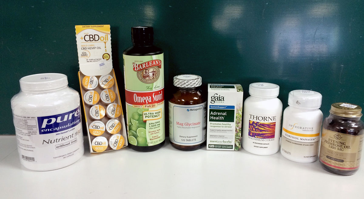 supplements carried at nature's vitamins and herbs